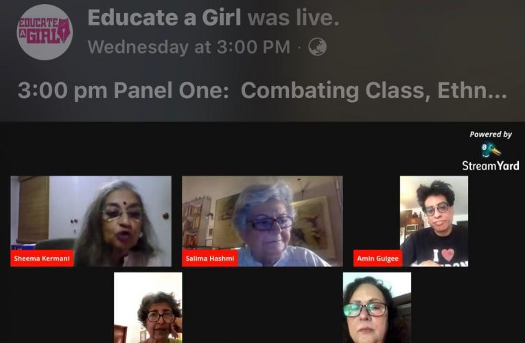 """Educate a Girl hosts groundbreaking virtual global conference """"You Are Not Defined By The Colour Of Your Skin"""""""