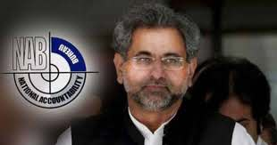 Khaqan Abbasi demands live broadcasting of NAB court proceedings