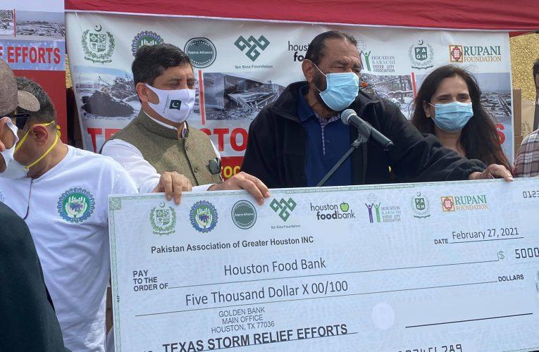 Alliance of Pakistani community organizations organizes Largest Food Drive at Pakistan center in Houston