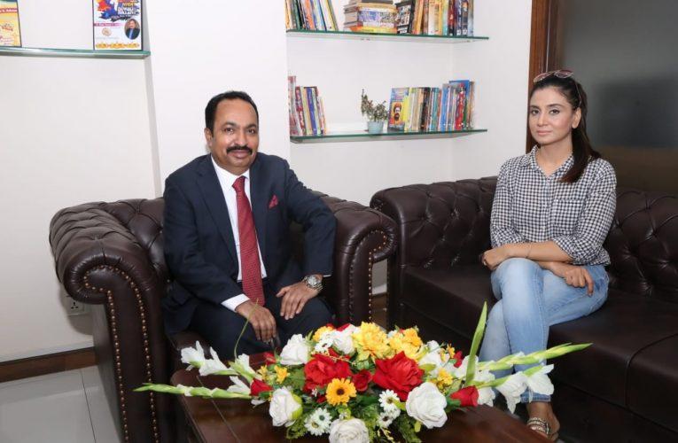Dr. Sham Sunder Advani gave an Exclusive Interview