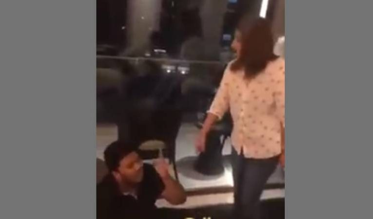 Video of wife thrashing husband for being with another girl goes viral