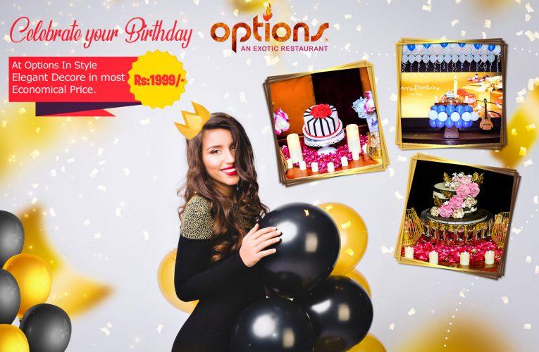 Lahore's Best Venue for Birthday Celebrations.