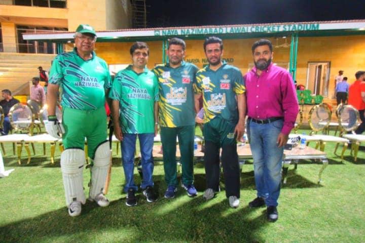 Glimpses of Mega Friendly Cricket Match, ARIF HABIB Xl vs ABAD Xl.